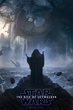 This is utterly amazing. It's made by Phase Runner, so check out the original animated Star Wars The Rise of Skywalker fan poster with Palpatine in all his lightening glory. Star Wars Pictures, Star Wars Images, Star Wars Fan Art, Oscar Isaac, Star Wars Painting, Star Wars Watch, Star Wars Wallpaper, Star Wars Gifts, Star Wars Art