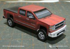 2014 Chevy Silverado model | papercruiser.com