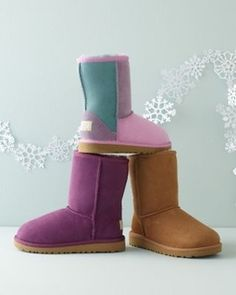 UGG® Children's Classic Shearling Boots