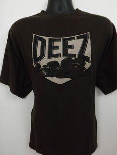 Deez Nutz Funny Men's T-Shirt,Size 2XL,100% Cotton,Brown   #Spencers #TShirt