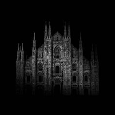 """Alessandro Piredda, Italy (Professional, Architecture)  Darkitectures. """"Darkitectures is a series of images of the most significant italian architectures, from an artistic point of view, captured at night. The voluntary memory of these pictures is a reminder of the stone not in its lifeless matter, but as the continuing of the living forms' vital momentum. The whole project is meant to be as a work in progress."""" 2017 Sony World Photography's Shortlist Is Stunning Beyond All Measures"""
