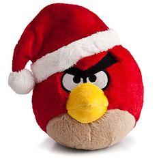 Angry Birds Santa Hat Plush $9.99