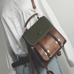 Autumn/Winter New Arrival Fashion Casual Shoulders Single Shoulder Cross-Body Travel School Contrast Color Backpack Handback. Yesterday's price: US $30.85 (25.25 EUR). Today's price: US $30.85 (25.46 EUR). Discount: 7%.