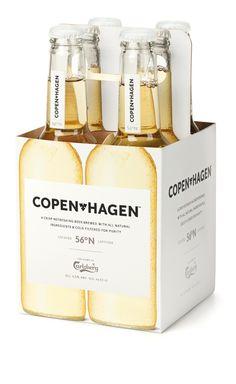 Copenhagen / Copenhagen beer - love the design / For more beauty in your life ♥ Visit www.glueckstueck,com and be a Fan: www.facebook.com/gluecksteuck