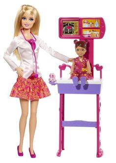 Barbie Careers Doctor Playset *** Click image for more details.