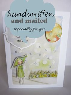 Handmade cards, I can send them to whomever you like! Wall Banner, Whimsical Art, Bride Gifts, Customized Gifts, Handmade Cards, Entertaining, Wall Art, Frame, Personalized Gifts