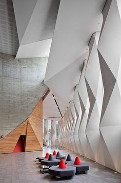 Centro Cultural Roberto Cantoral  DF, Mexico  Broissin Arquitectos.