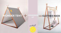 // Clothes Rack & Conversion Kit // amazing!