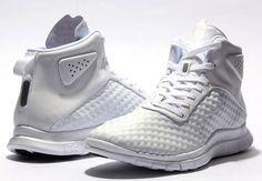 Nike Free Hypervenom Mid: White
