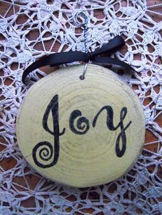 Hand Crafted Rustic Wooden Christmas Ornament by WhitsAcres on Etsy
