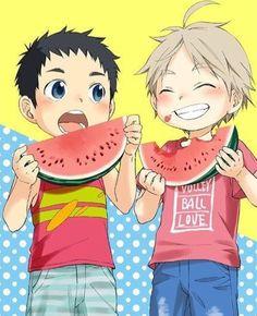 Daichi and Sugawara children