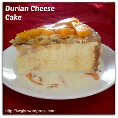 King of Fruits + Cream Cheese = Durian Cheesecakes, Game to Try?
