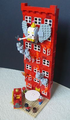 I absolutely hate Dumbo as a movie, but as a LEGO creation? Awesome!