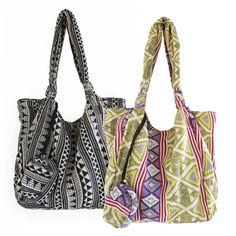 jacquard jogi shopper bag with purse by aura que | notonthehighstreet.com