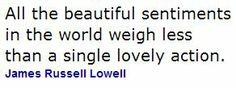 James Russell Lowell quote....