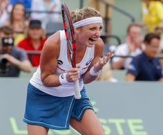 3/29/16  We Are Tennis:  Upset again!! Timea Bacsinszky ousts Simona Halep 4-6 6-3 6-2 to move in @MiamiOpen last 4!