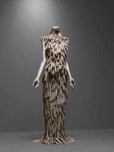 Dress, VOSS, spring/summer 2001 | Alexander McQueen: Savage Beauty | The Metropolitan Museum of Art, New York