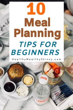 If you are just starting out, meal planning might seem overly complicated. Learn 10 meal planning tips for beginners that will make meal planning a breeze. Lunch Recipes, Breakfast Recipes, Healthy Recipes, Coffee Shop Menu, Breeze, The Best, Meal Planning, Health Fitness, Snacks
