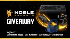 Enter This Logitech #Gaming Bundle #Giveaway! Win A New #Headset, #Keyboard, #Mouse, and #Webcam.