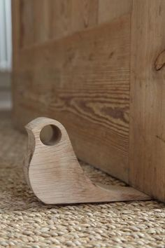 The Wood Collector — Wooden Bird Door Stop