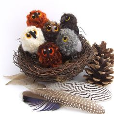 needle felted owl baby by feltmeupdesigns | notonthehighstreet.com