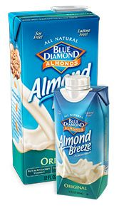 almond milk, get your calcium for strong bones and such.