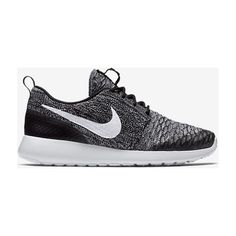 Nike Roshe Flyknit Women's Shoe. Nike.com ($120) ❤ liked on Polyvore featuring shoes, nike, nike footwear, nike shoes and flyknit shoes