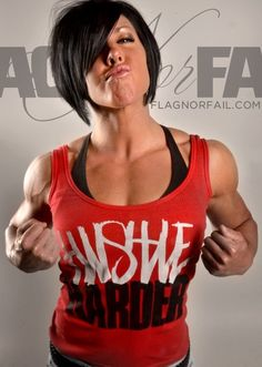 Flag Nor Fail and my other favorite physique girls Dana Linn Bailey