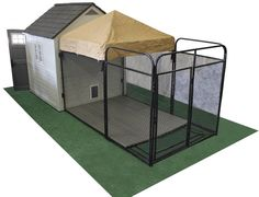 Terrific No Cost Build A Boarding Include Dog Kennel Flooring Tips Today, dogs. Terrific No Cost Build A Boarding Include Dog Kennel Flooring Tips Today, dogs…, Terrific No C Dog Kennel Cover, Diy Dog Kennel, Dog Kennels, Kennel Ideas, Small Dog Breeds, Small Dogs, Dog Kennel Flooring, Dog Boarding Kennels, Small Dog House
