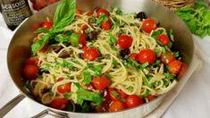 Pasta with Garden Fresh Cherry Tomatoes | SeasonsTaproom.com
