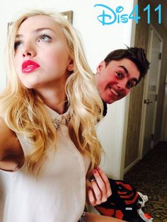 Photo: Peyton List With Her Brother Spencer List May 27, 2014