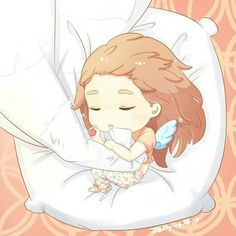 Taeng JetLag Sleeping beauty fanart by Jelly #Taeyeon #sleep #Jetlag #Jelly