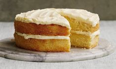 This cake has an impressively well-risen deep sponge, flecked with soft orange peel, and using the whole clementine gives a wonderful moistness.