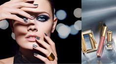 Estee Lauder-the metallics Karen Graham, Makeup Advertisement, Bruce Boxleitner, Estee Lauder Pure Color, Makati, Harpers Bazaar, Kate Moss, Beauty Trends, Makeup Art