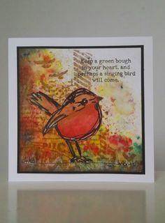 add this poem to bird plaque grouping - stencil one word on each plaque