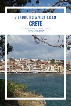 La Crète du nord au sud : les 8 lieux incontournables à visiter sur l'île. Vous partez prochainement en Crète et vous souhaitez découvrir les incontournables de ce joli pays pour préparer votre itinéraire ? De Heraklion à Rethymnon, du lac de Kournass au Gorges de Samaria, en passant par l'Île de Spinalonga, la mer de Lybie... Retrouvez tous les détails sur mon blog de voyage. | #crète #grece #greek #mustsee #voyage #travel