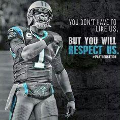 Carolina Panthers RESPECT                                                       …