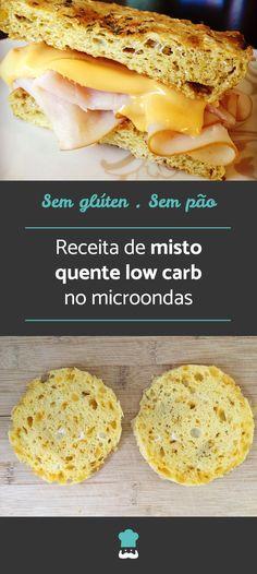 Aprenda a fazer este misto quente low carb, perfeito para o seu café da manhã ou lanche! #mistoquente #sanduiche #receita #receitafit #receitalowcarb #lowcarb #lowcarbdiet #lowcarbrecipes #semglúten #comida #receitafácil