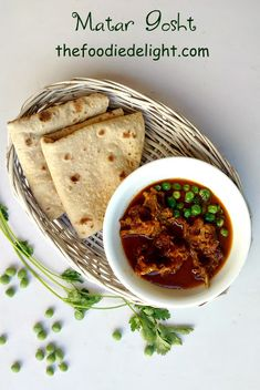 Matar Gosht ka Salan Recipe by The Foodie Delight