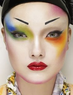 160 Best Ag Images Up Dos Creative Makeup Hair Makeup - Avant-garde-makeup-themes