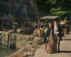 'Outlander': Watch the Cast Get Silly in Epic Blooper Reel – Plus, First Look at Season 2!