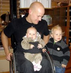 Holding a child on lap Knee Scooter, Mobility Aids, Spinal Cord Injury, Baby G, Dog Dresses, Occupational Therapy, Special Needs, Nurseries, Disability