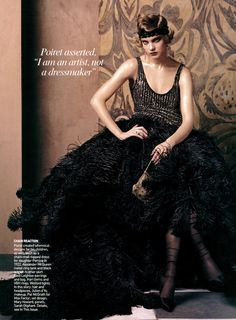 Vogue US May 2007 - Natalia Vodianova photographed by Steven Meisel