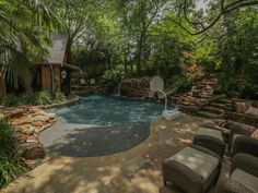 See how pool designers make homeowners' backyard dreams come true with a little…