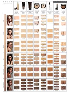 BECCA Cosmetics Foundation Finder