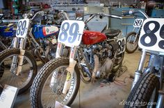 bsa trackmaster | Triumph T-120V with a Trackmaster frame, Ceriani Road Race forks and ...