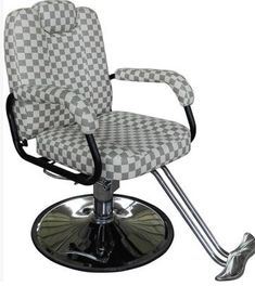 Hot hair salon barber chair. Hairdressing chair. Put down lying razor chair can be lifting rotation.