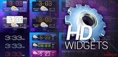 HD Widgets v3.1.2 – Widgets does two things: gives you great looking widget and makes it fun and easy to customize them.    >> For more info click the picture ♥