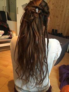 Blonde Dreadlocks, Braided Dreadlocks, Half Dreads, Partial Dreads, Short Dreads, Half Dreaded Hair, Hair Inspo, Hair Inspiration, Pelo Rasta