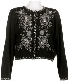 vintage beaded cardigans | my blog | Pinterest | Beads, Vintage ...